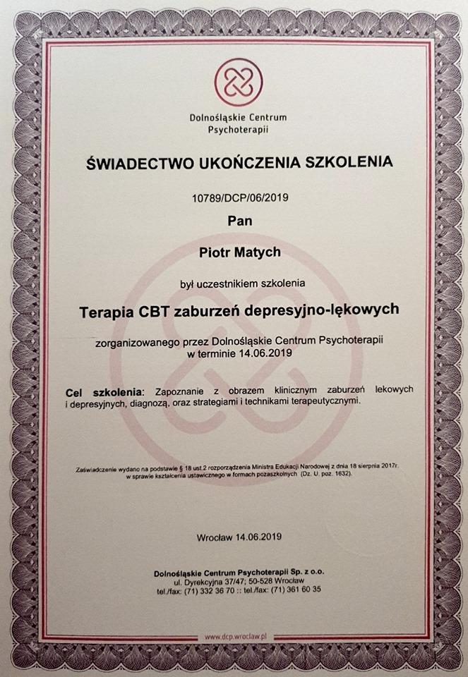 świadectwo Psycholog, Psychiatra Łódź